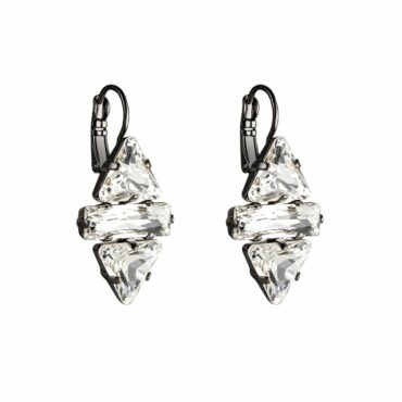 Cosmo Queen Crystal Drop Earrings, Tomfoolery, Philippe Ferrandis,