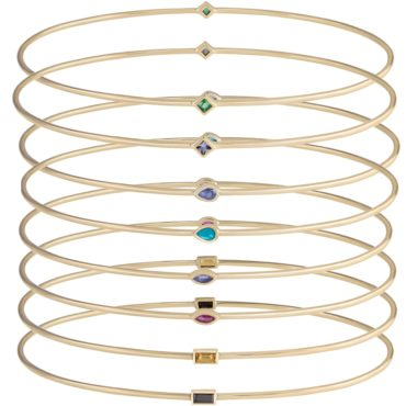 metier by tomfoolery: double gemstone bangle