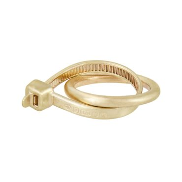 The Right Fit Yellow Gold Ring, holly o'hanlon, tomfoolery