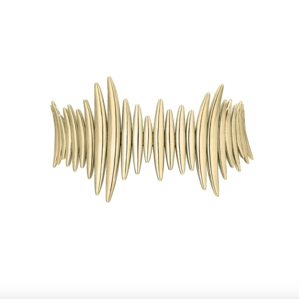 Shaun Leane, Gold Plated Quill Multi Bracelet, Tomfoolery