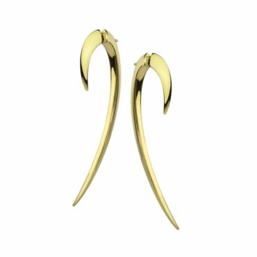 Shaun Leane, Large Hook Earrings gold plated , tomfoolery