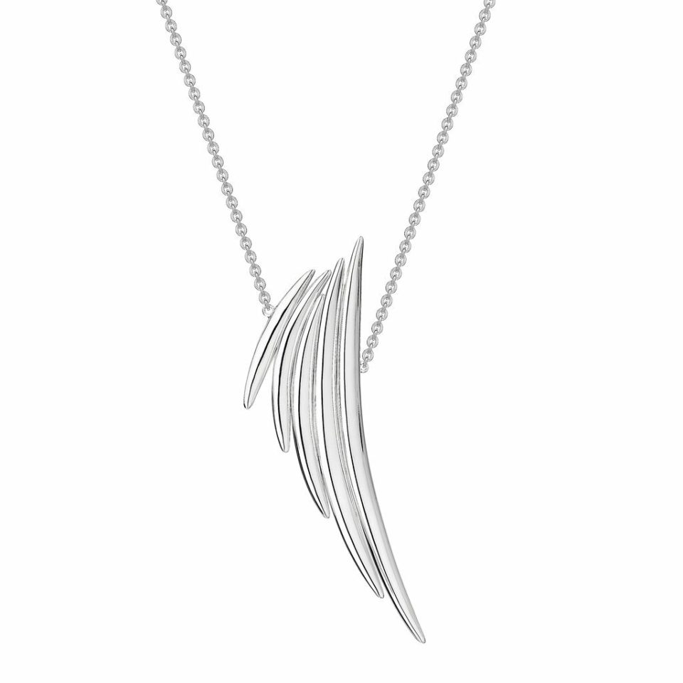 Shaun Leane, Silver Quill Drop Pendant, Tomfoolery