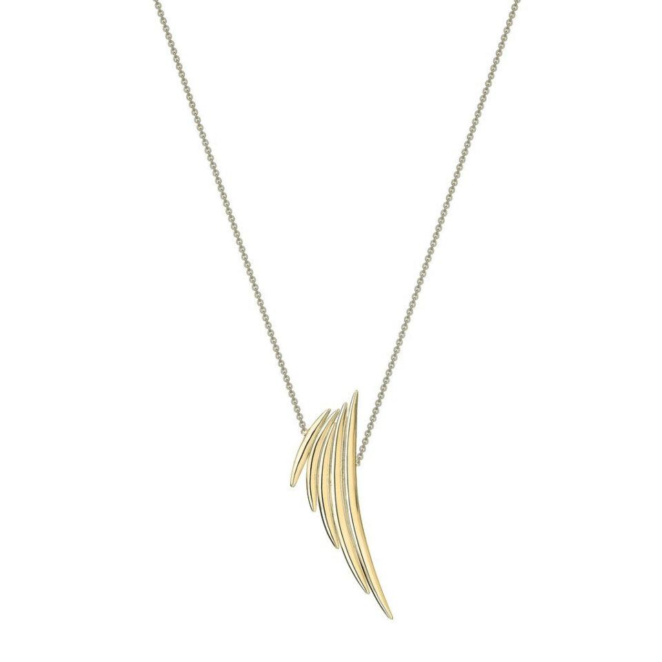 Shaun Leane, Gold Vermeil Quill Drop Pendant, Tomfoolery