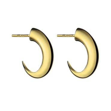 Shaun Leane, Medium Cat Claw Hoops Gold Vermeil, Tomfoolery
