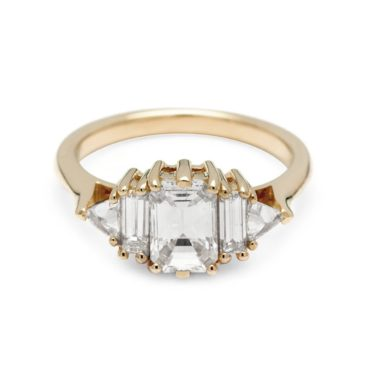 Anna Sheffield, 1ct White Diamond Theda Ring, Tomfoolery