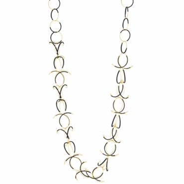 Gold Twist Necklace, guzin, tomfoolery