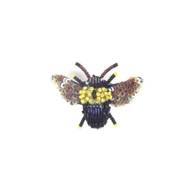 Carpenter Bee Brooch, Trovelore, Tomfoolery London