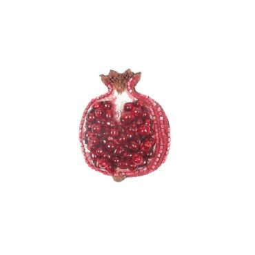 Pomegranate Brooch, Trovelore, Tomfoolery London