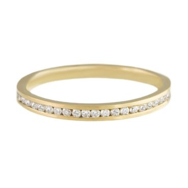 Full Diamond Eternity Contour Ring,    jo hayes ward,  tomfoolery