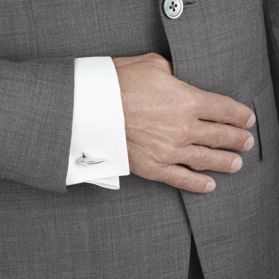 Shaun Leane, Silver Hook Cufflinks, Tomfoolery