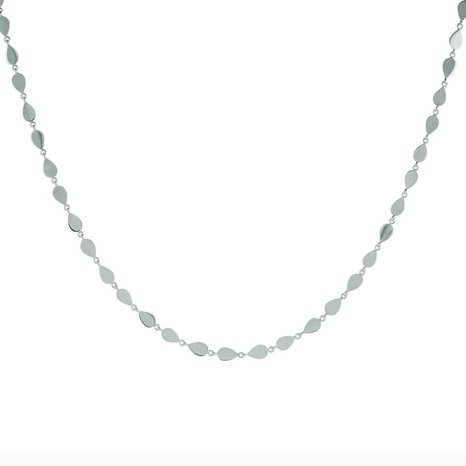 Everyday by tomfoolery, Linear Pear Link Necklace, tomfoolery