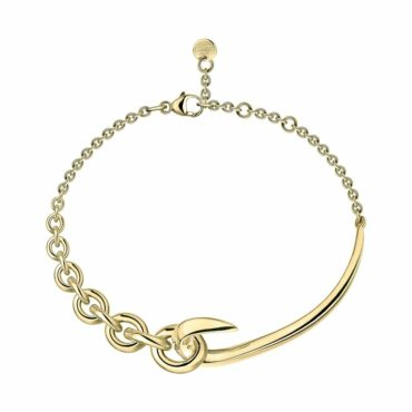 Hook Chain bracelet in gold vermeil ,Shaun Leane, Tomfoolery London