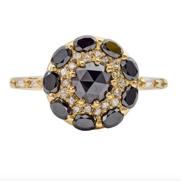 Artemer, Black Diamond Mandala Ring, tomfoolery