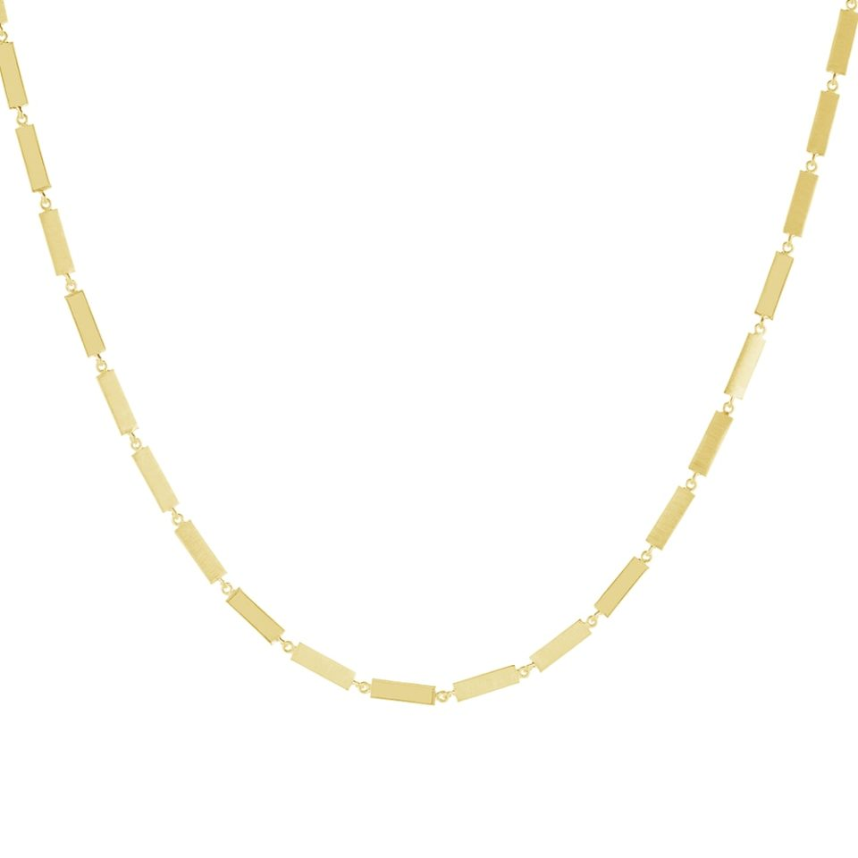 Everyday by tomfoolery, Linear Bar Link Necklace, tomfoolery