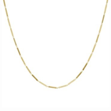 Everyday by tomfoolery, Linear Slim Bar Link Necklace, tomfoolery