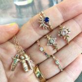 Sofia Zakia, Diamond Stardust Ring, Tomfoolery
