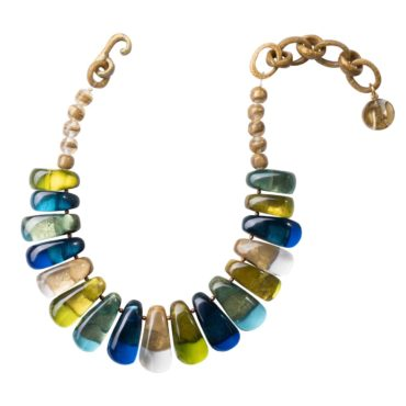 Dominique Denaive, tomfoolery Ornella Multicoloured Necklace