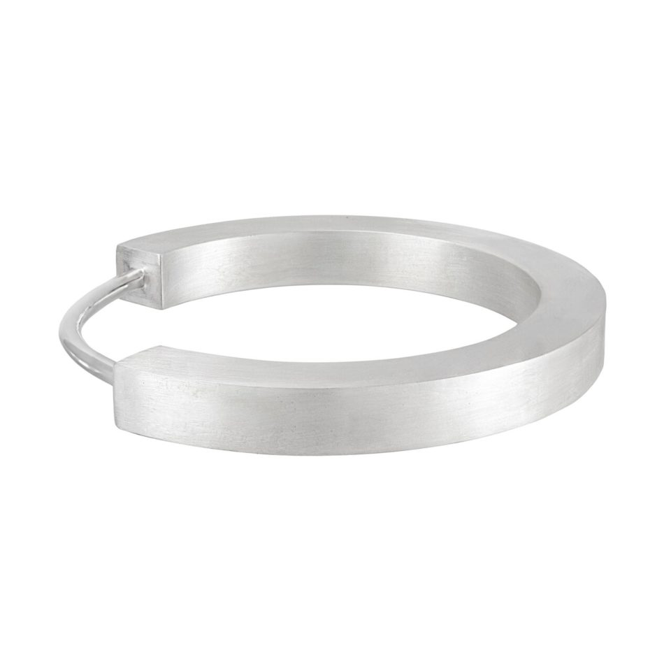 Tomfoolery; Chunky 3D box Bangle, Everyday by Tomfoolery