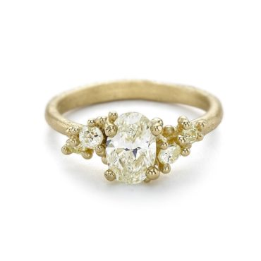 Ruth Tomlinson, Yellow Diamond Encrusted Ring, tomfoolery