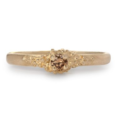 Hannah Bedford, tomfoolery, Cluster Champagne Diamond Ring
