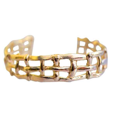 Formentera Gold Plated Silver Bangle Tomfoolery,Karen Hallam