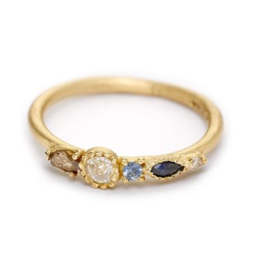Ruth Tomlinson, Marquise Four Stone Ring, tomfoolery