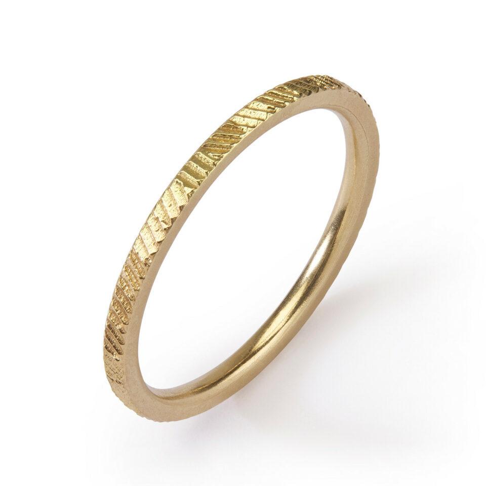 1.5mm Contour Ring , Jo Hayes Ward, Tomfoolery London