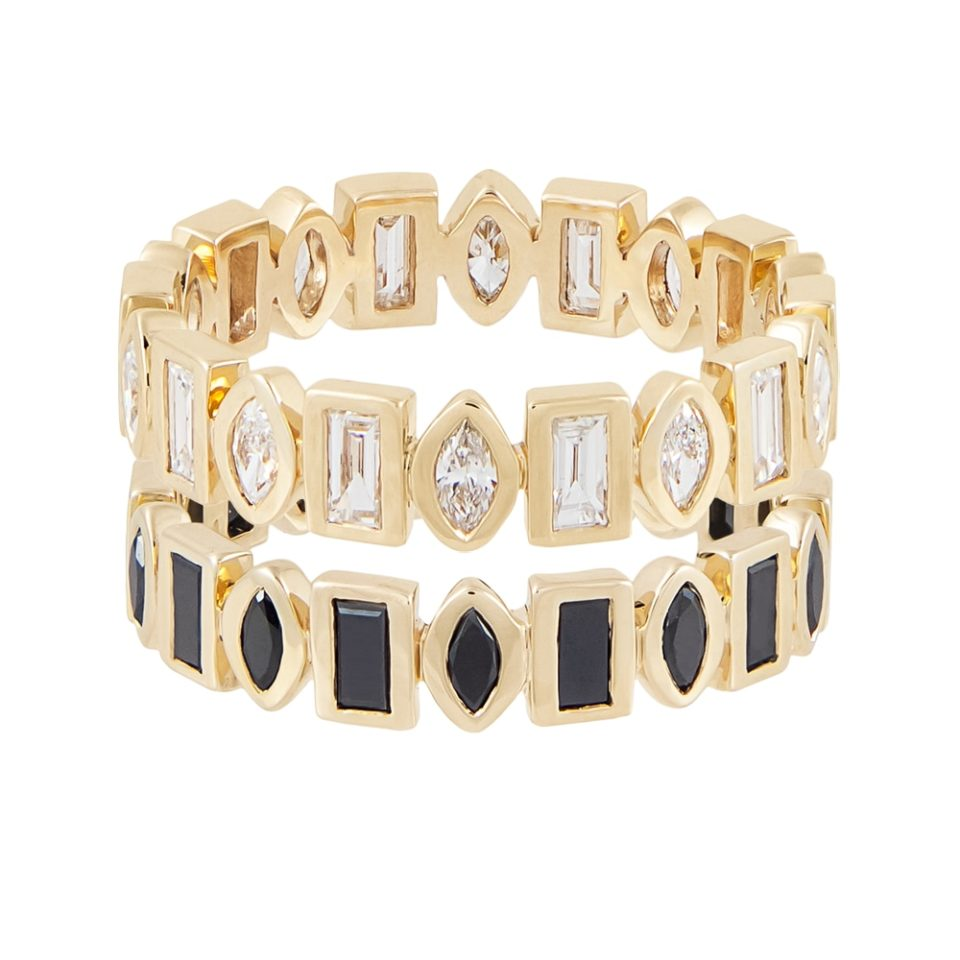 metier by tomfoolery: Marquise & Baguette Diamond Eternity Ring