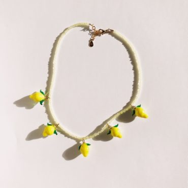 Ninfa Handmade, Lemoncello Necklace, Tomfoolery London