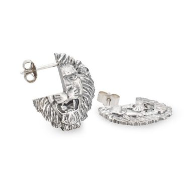 Harriet Morris,  Silver Lion Studs, Ring tomfoolery
