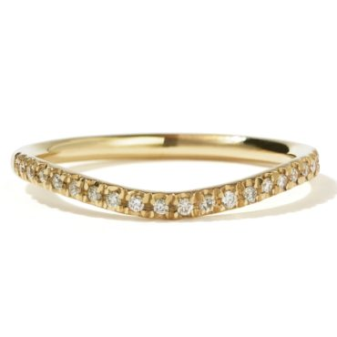 Amelie Pave Diamond Ring Tomfoolery, Meadowlark