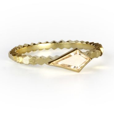 White Kite Diamond Hex Engagement Ring, jo hayes ward, tomfoolery