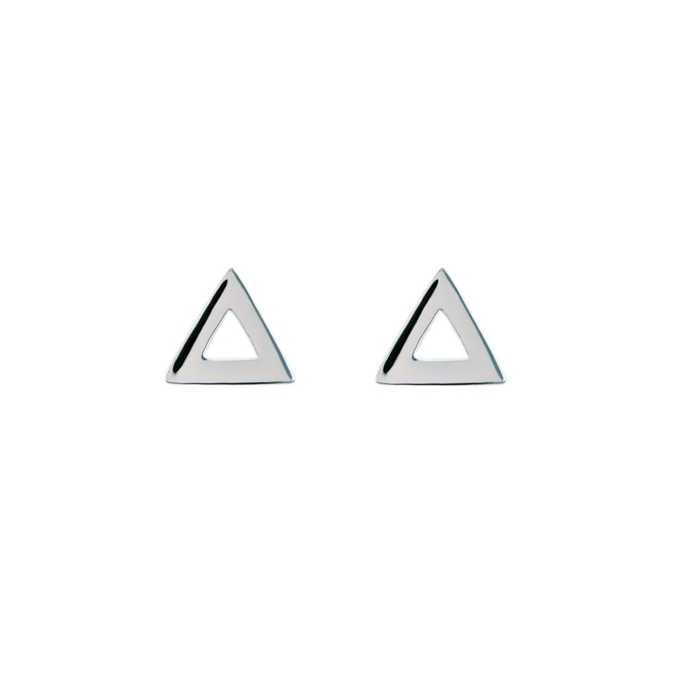 tomfoolery, Linear Mini Triangle Frame Studs, Everyday by tomfoolery