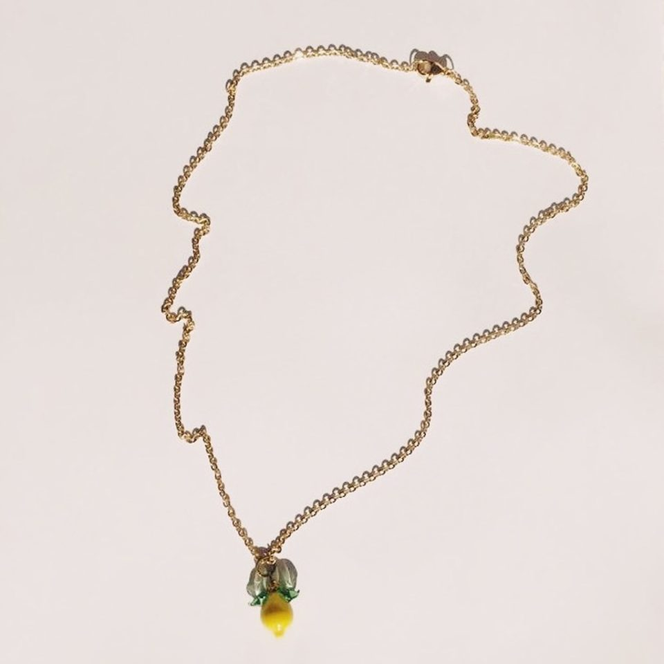 Ninfa Handmade, Lemon Necklace, Tomfoolery London
