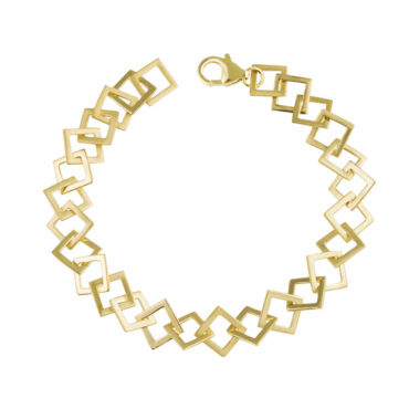 Large Square Link Bracelet, tomfoolery:  everyday by tomfoolery