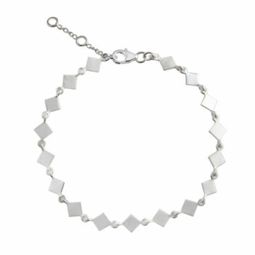 tomfoolery: Tilted Square Link Bracelet, everyday by tomfoolery