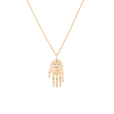Celine Daoust, Small Dharma's Hand Necklace, tomfoolery