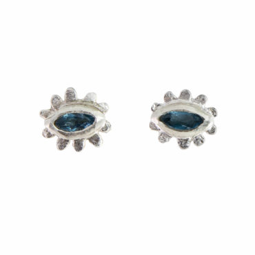 Marquise Flower Studs by UK jewellery designer Amanda Coleman. Available to shop online at tomfoolerylondon.co.uk