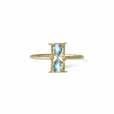 Amulet hourglass ring by Acanthus available to shop online at tomfoolery London | www.tomfoolerylondon.co.uk