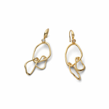Twisted Gold Small Mobile Earring - Alexis Bittar - tomfoolery London