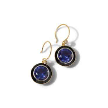 Vitreum Enamel Drop Earring - Lavender - Alexis Bittar - tomfoolery London