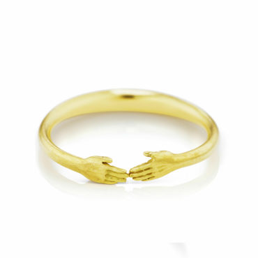 Tiny Hands Ring by Anthony Lent, shop online at tomfoolery London | www.tomfoolerylondon.co.uk