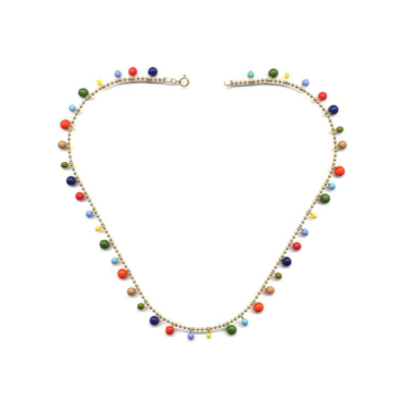 Garland chain necklace by I. Ronni Kappos available at tomfoolery London | www.tomfoolerylondon.co.uk