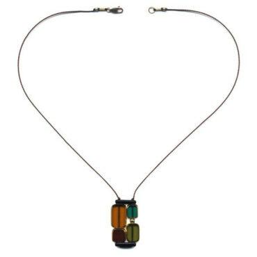 Klimt pendant by I. Ronni Kappos available at tomfoolery London | www.tomfoolerylondon.co.uk