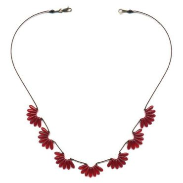 Scallops necklace by I. Ronni Kappos available at tomfoolery London | www.tomfoolerylondon.co.uk
