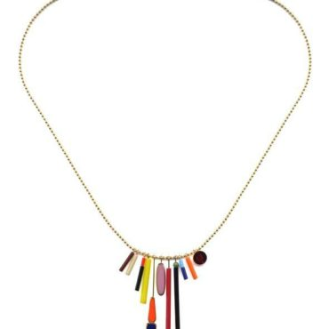 Sunray charms necklace by I. Ronni Kappos available at tomfoolery London | www.tomfoolerylondon.co.uk