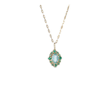 Malo Emerald Pendant by 5 Octobre available to shop online at tomfoolery London.