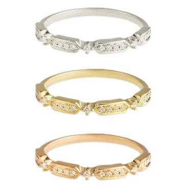 Art Deco Diamond Half Eternity Ring by tf Diamonds - available at tomfoolery london