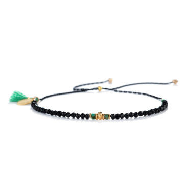 Noor Bracelet in Spinel by SHASHI. Available at tomfoolery london