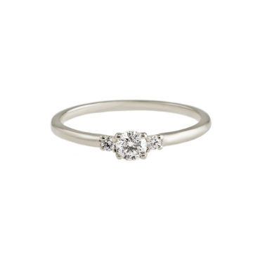 Diamond Trilogy Ring by tf Diamonds - available at tomfoolery london